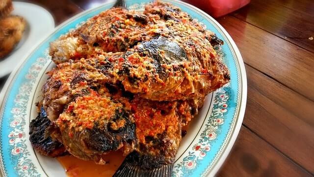 indonesian cuisine - grabfood